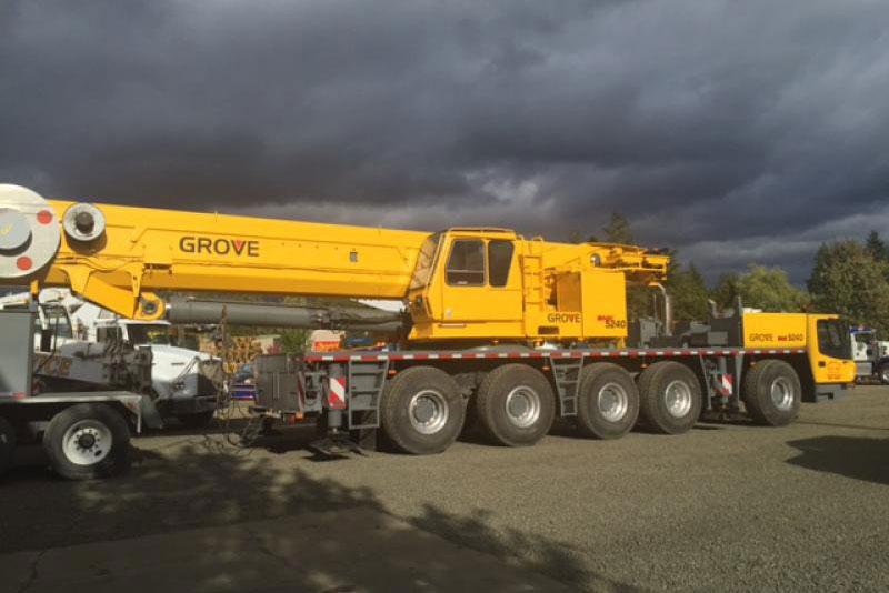Grove 240 ton